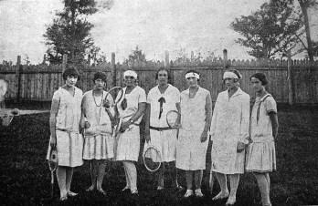 Українські ситківкарки на змаганнях, Львів, 1926 р.