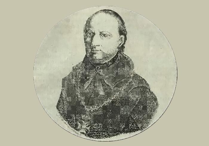 Портрет отеця Модеста Гриневецького, 1835 р.