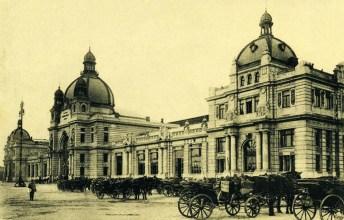Головний львівський вокзал. Поч. ХХ ст.