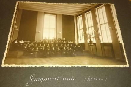 Актова зала закладу Уршулянок. Фото 1932-1939 рр.