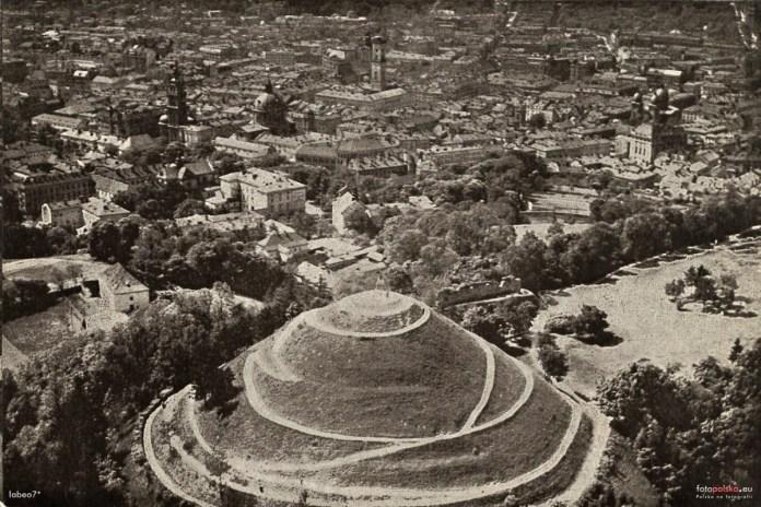 Високий Замок. Фото міжвоєнного періоду