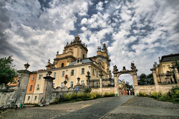 Собор святого Юра, в якому прийняв свячення о. Дольницький. Фото: http://weloveua.com