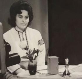 Перший диктор телебачення – Стефанія Харчук (фото - архів музею телебачення)