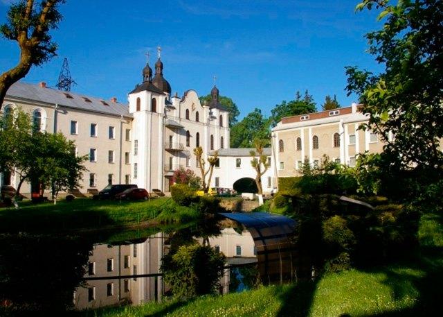 Монастир св. Альфонса: сучасний вигляд