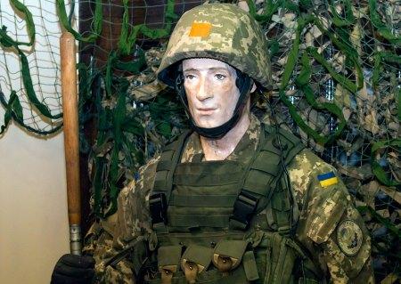"""Експозиція виставки """"АТО. Неоголошена війна Україні"""""""