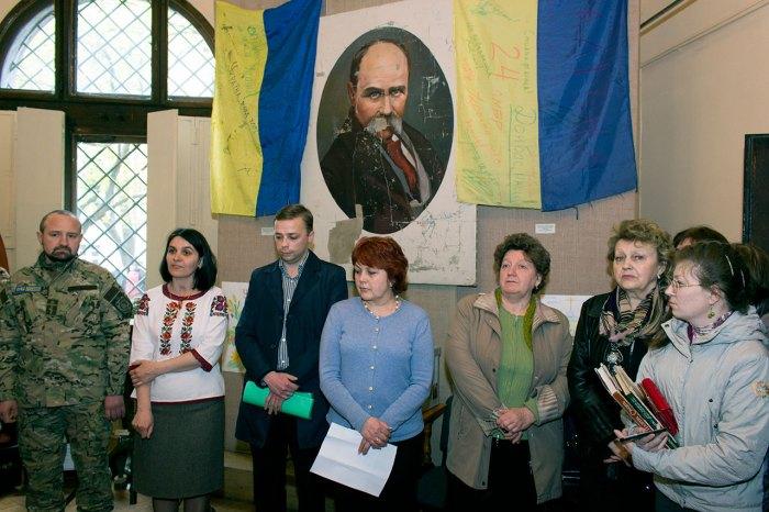"""Відкриття виставки """"АТО. Неоголошена війна Україні"""""""
