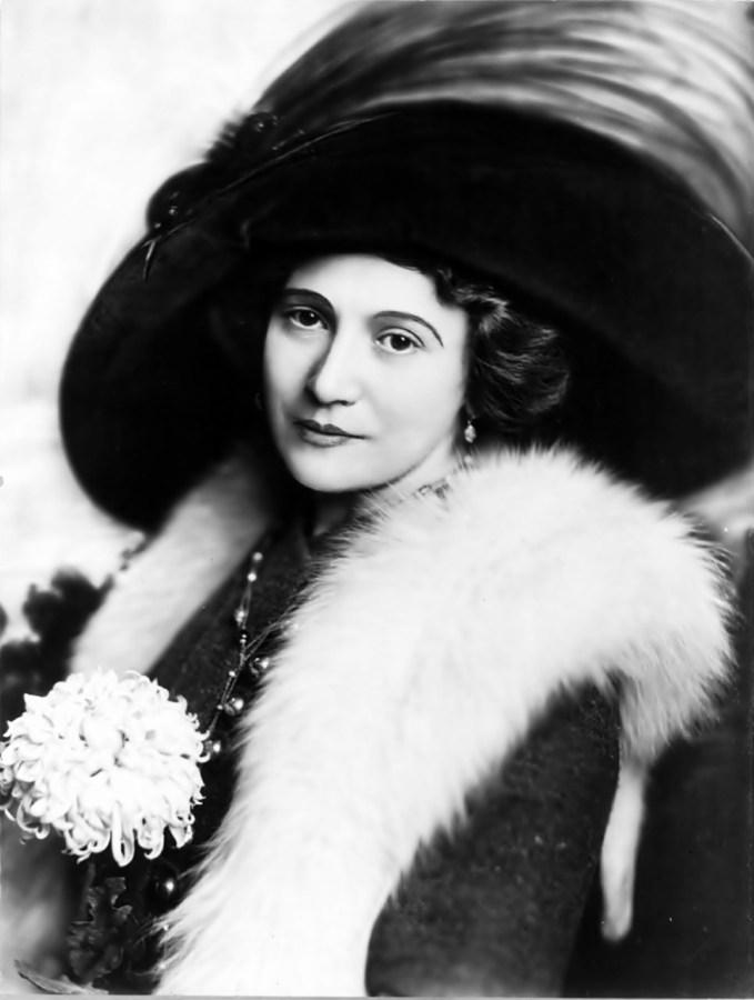 Берта Каліх, фото зроблене на піку її кар'єри – у 1910 році