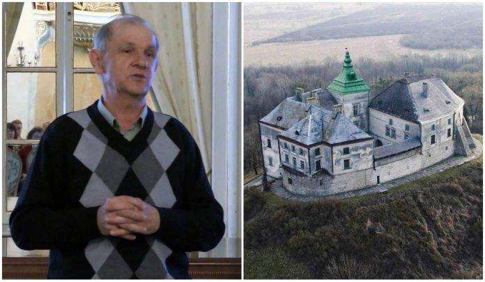 Історія Олеського замку в лекції Романа Соломка