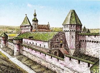 Середньовічний Міський арсенал. Автор роботи – Качор І. В.