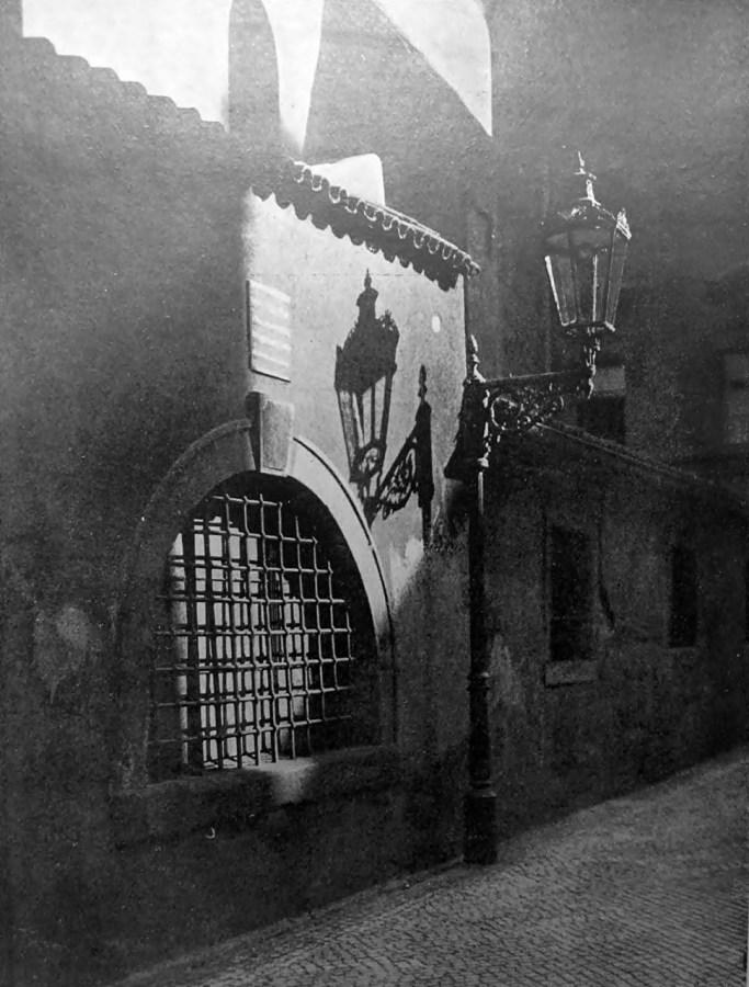 Олекса Балицький. З празького ґетта, ймовірно 1920-ті рр. (Світло й Тінь. – 1933. – Ч. 3/4)