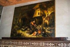 Копія картини Адріана ван Остаде «Алхімік». Фото: http://www.nmu.edu.ua/