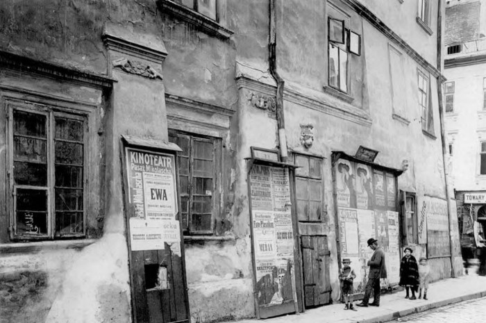 Будинок на розі вул. Краківської та Вірменської, що завалився в 1922 році. Фото 1910 року