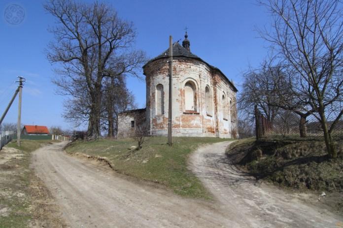 Костел Святої Трійці, с. Терновиця (колись Брухналь). Фото з ishchuk.net