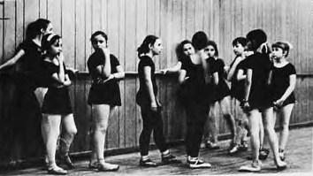 Учениці балетної школи Роми Прийми (Юнак. – 1971. – Ч. 8/9)