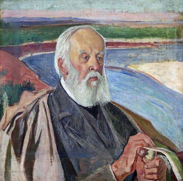 Олекса Новаківський. Портрет Сильвестра Голубовського, 1917 – 1933 рр.