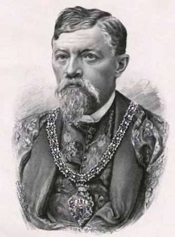 Едмунд Мохнацький (пол. Edmund Mochnacki) президент міста в роках 1887–1897. Зображення: https://uk.wikipedia.org/