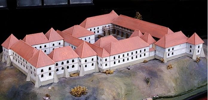 Макет Винниківського замку, Фото: http://vynnyky-rada.gov.ua/istoriya-mista/