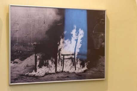 """Експозиція виставки Андрія Боярова """"Без назви/Сакральні простори"""""""