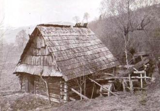 Сукновальня із села Пилипець, де і зроблено фото