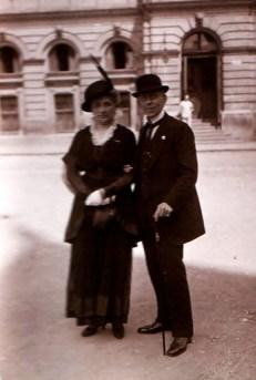 Ірена і Людвіг Сольські, 1916 р. Джерело: https://pl.wikipedia.org/wiki/Ludwik_Solski
