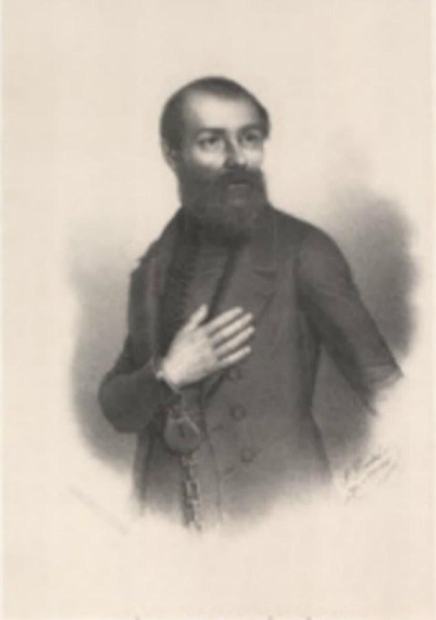 Польський революціонер Юзеф Капустинський, був повішений на Горі Страт. Фото з http://www.europeana.eu