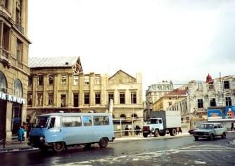 Руїни будинків 9 та 10 на пл. Міцкевича, 90-ті рр. ХХ ст.