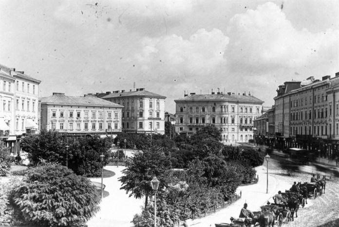 Площа Марійська (пл.Міцкевича), кін. ХІХ ст.
