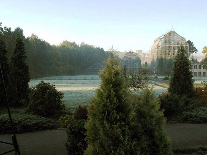 Оранжерейний комплекс ботанічного саду на вул. Марка Черемшини, 44