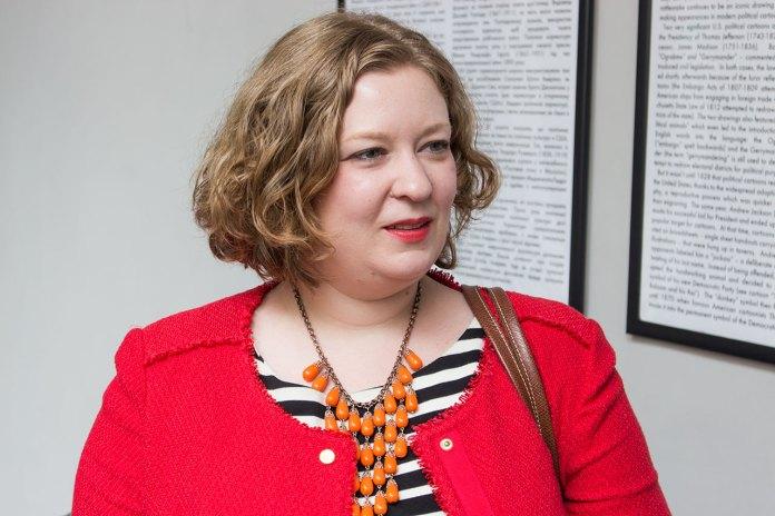 Заступник аташе з питань культури Посольства США в Україні Кетрін Гелек