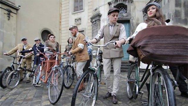 Велозабіг присвячений до Дня Батяра, Львів 2015 рік