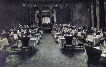 "Готель ""Жорж"", ресторан. Фото поч. 20 ст."