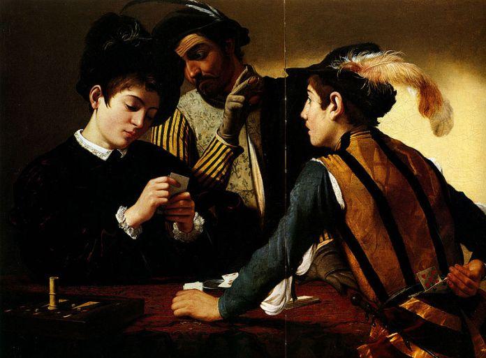 Караваджо. Шулери, 1596 рік. Фото з news.uklon.com.ua