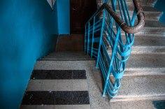 Львів, під'їзд будинок на вул. Ген. Грицая, 24, (на фото видно автентичне оздоблення)