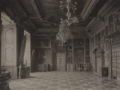 Багряна Зала Підгорецього замку. Фото 1910 року