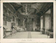 Інтер'єр Золотої Зали Підгорецького замку. Фото 19012 року