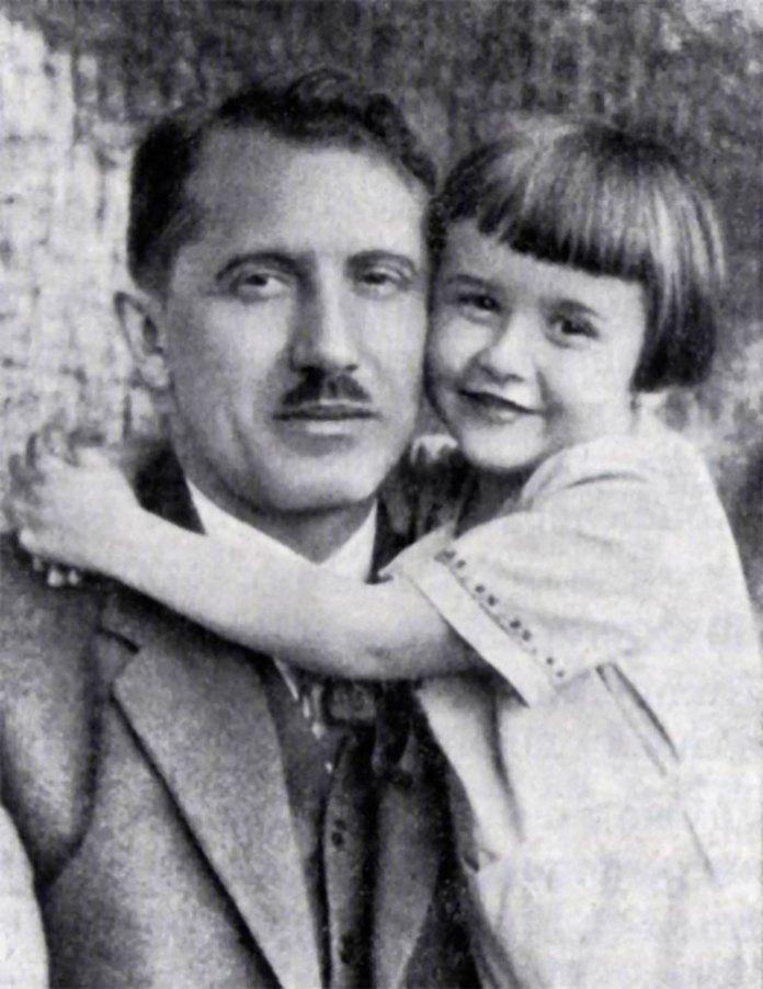 Євген Коновалець із сином Юрком