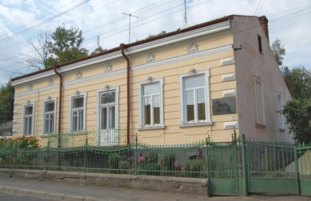 Будинок, в якому жив Бруно Шульц у Дрогобичі