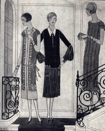 """Сторінка моди, """"Нова хата"""", жовтень 1925 р."""
