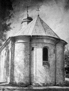 Маріян Ґавдяк. Церква Успіння Пресвятої Богородиці, Крилос, поч. 1930-х рр. (Світло й Тінь. – 1935. – Ч. 2)