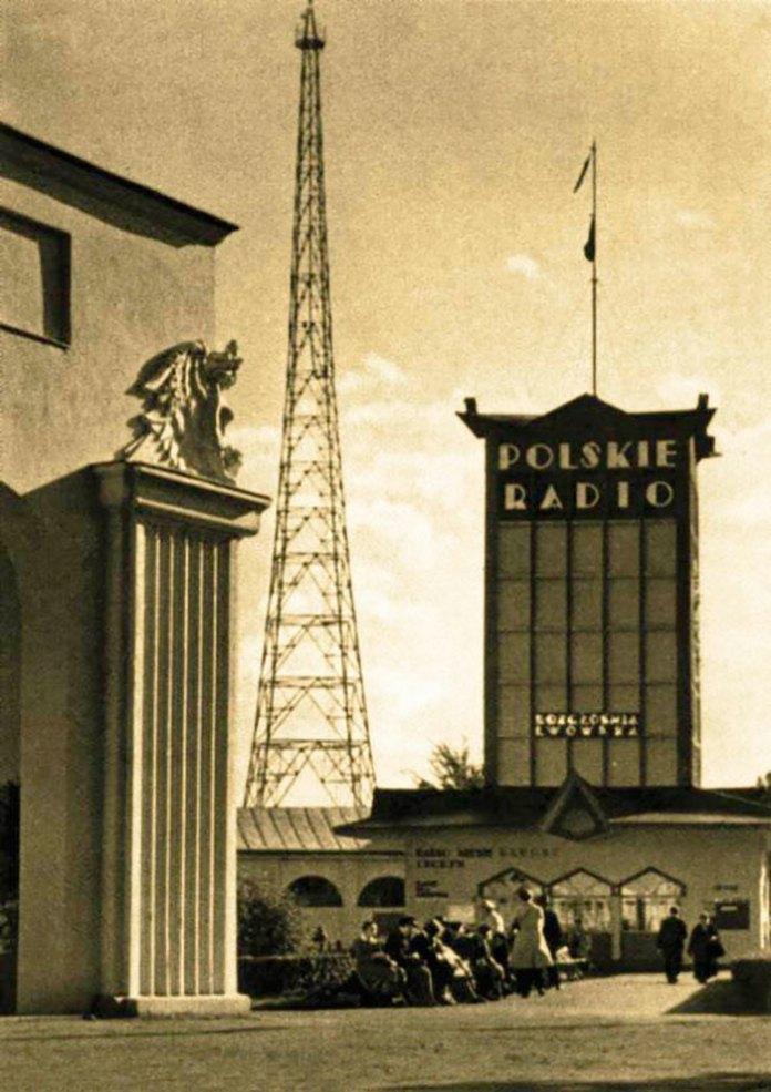 Фото центрального павільйону Східних торгів у 1938 році