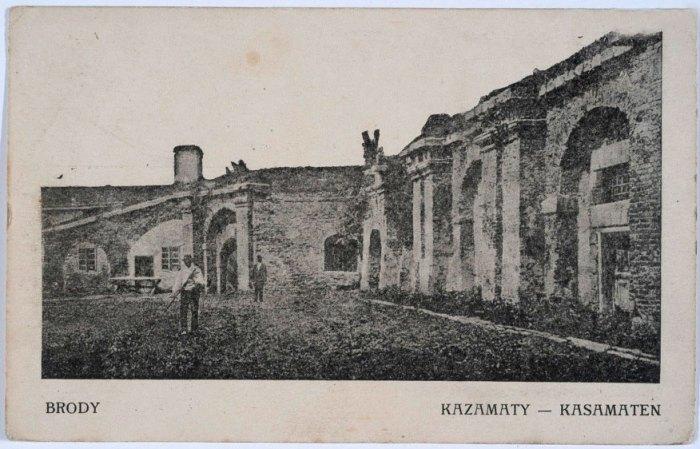 Каземати, 1900 рік