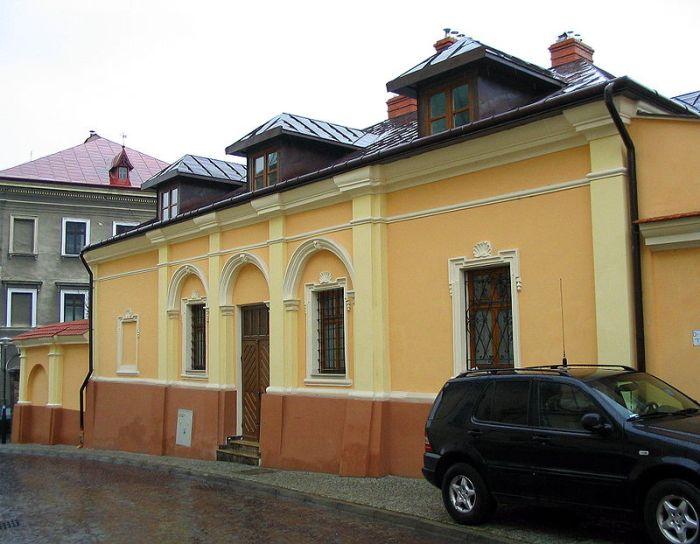 Будинок Станіслава Оріховського у Перемишлі. Фото з https://uk.wikipedia.org