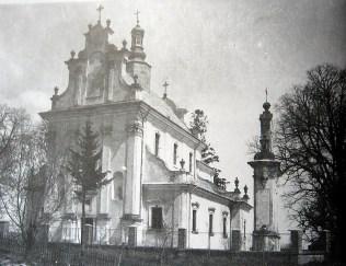 Костел у Наварії станом на 1930 рік