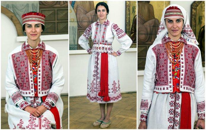 Яворівське жіноче вбрання 100 років тому