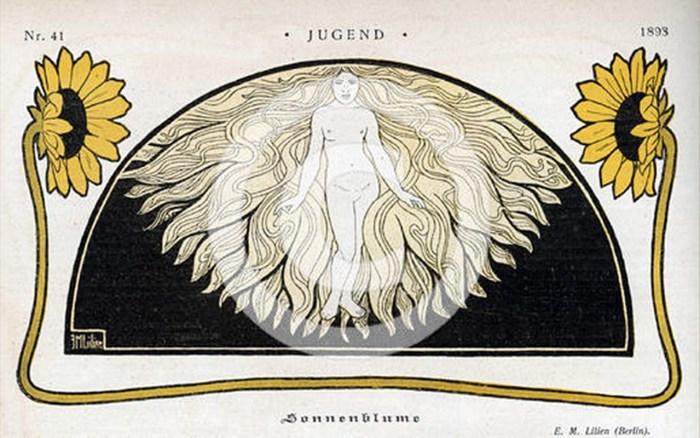 """Соняшник"" (Sonnenblume), Jugend, Берлін, 1893"