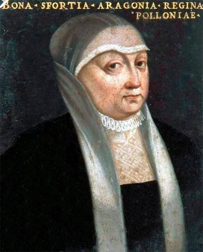 Королева Бона Сфорца