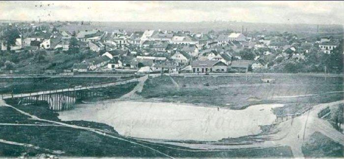 Щирецький став на світлині 1900р.