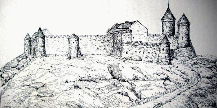 Високий замок у ХVІІ ст