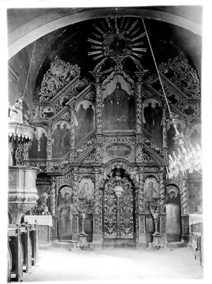 Іконостас церкви св. Миколая в Бучачі