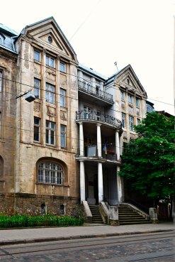 Будинок у Львові на вулиці Чупринки, 49 (Фото Тетяна Жернова 2016р)